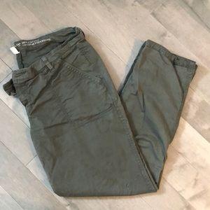 GAP army green pants